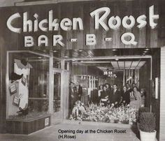 When l was young, my father would take me, my mother and my two brothers to the Chicken Roost every two weeks when he got paid. Always had the Chicken on a Bun. Great Memories growing up in Hamilton Ontario. Hamilton Ontario Canada, Chicken Roost, Dundas Ontario, The Old Days, Time Photo, Historical Pictures, Great Memories, Old Pictures, Growing Up