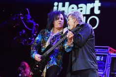 Billy Idol Photos - Recording artists Steve Stevens (L) and Billy Idol perform onstage during the first ever iHeart80s Party at The Forum on February 20, 2016 in Inglewood, California. - iHeart80s Party - Show Steve Stevens, Billy Idol, Punk, Concert, Inglewood California, February, Babe, Guitar, Artists