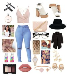 """""""Not even tryin'"""" by jailakohn2003 on Polyvore featuring Rebecca Minkoff, Forever 21, Maison Michel, Topshop, Carolee, Michael Kors, Lime Crime, NARS Cosmetics and Chanel"""