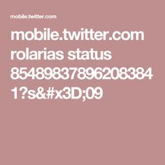 mobile.twitter.com rolarias status 854898378962083841?s=09