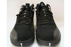 Air Jordan 12 Retro - Nubucks UNC University Blue Black