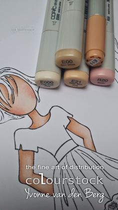 Copic skin colors