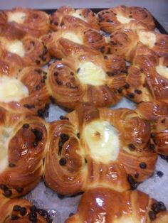 Ricetta Danesi dolci Croissants, Biscotti, Crepes, Bakery, Deserts, Rolls, Food And Drink, Sweets, Vegan