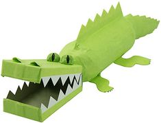 Alligator craft project #tgif_pinparty