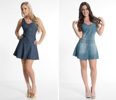 vestidos de jeans 2015 - Pesquisa Google