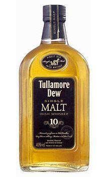 Tullamore Dew 10 Year Old Single Malt Irish Whiskey, $89.00 #irishwhiskey #gifts #1877spirits