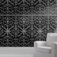 Trompe l'Oeil Metal Wallpaper - Mineheart