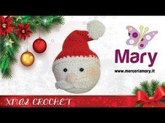Mercuriale Babbo Natale | Uncinetto - YouTube