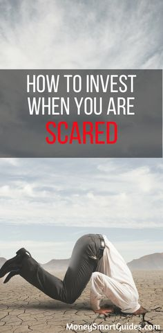 How To Invest When You Are Scared Of The Market. I've always been nervous investing. This post put thing into perspective and I am a confident investor!