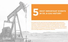 The 5 Most Important Events In Oil & Gas History - TheSurge.com