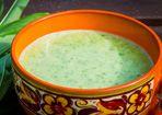 Kohlrabi-Zucchini-Kokos Suppe