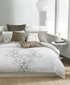 I love the comforter..   having second thoughts about white though
