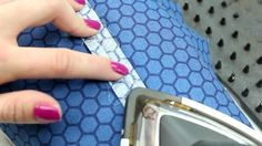 Open The Excess Fabric From The Seam I How To Sew French Seams Correctly I Sewing Tips For Beginners