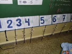 Empezamos el curso en Infantil | El blog de ABN del CEIP Serafina Andrades Number Sequence, Number Activities, Math Humor, Math For Kids, Math Centers, Montessori, Preschool, Classroom, Teaching