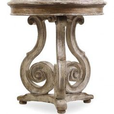 Hooker Chatelet Scroll Accent Table HO-5351-50002