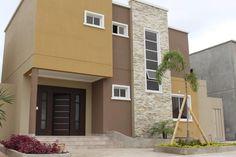 Exterior Paint Schemes, Exterior Paint Colors For House, Dream House Exterior, Exterior Colors, Modern Exterior House Designs, Modern House Design, Bedroom Furniture Design, House Painting, Building Design