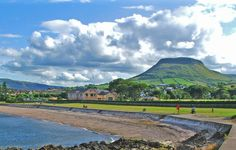 The idyllic landscape in the village of #Cushendall #Antrim #Ireland #vacation #travel #tour #guide www.irelandinsiderguide.com