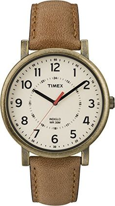 Timex T2P220 Classic Tan Leather Strap Watch *** Learn more by visiting the image link. (Note:Amazon affiliate link) #CoolandAffordableWatches