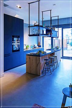 New Kitchen Bar Modern Interiors Ideas Industrial Kitchen Design, Modern Kitchen Design, Interior Design Kitchen, Modern Design, Home Decor Kitchen, New Kitchen, Home Kitchens, Decorating Kitchen, Kitchen Ideas