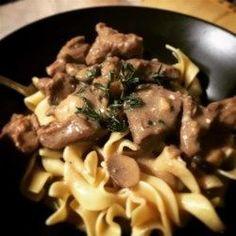 Beef Stroganoff III - Allrecipes.com