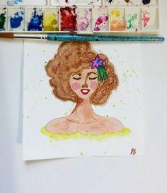 Da série Mulheres em cor (pintura 2)