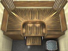 Saunaan 10x10 (tai pienempi) laatta vinoon Tower, Home Appliances, Bathroom, Building, House Appliances, Washroom, Rook, Computer Case, Full Bath