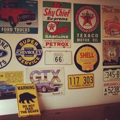 #Vintage garage
