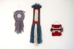 SALE - 30% OFF Gradient Wall Hanging – Fiber Art and Weaving by LoopsAndStone on Etsy
