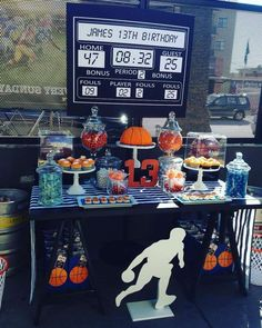 Basketball Birthday Party Ideas | Photo 1 of 8 | Catch My Party