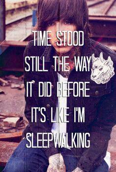 Bring Me The Horizon - 'Sleepwalking' one of my favorites off Sempiternal.