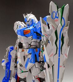 GUNDAM GUY: MG 1/100 Nu Gundam Ver. Ka - Customized Build