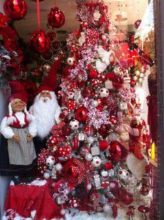 Christmas window shop