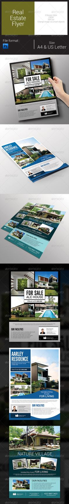 Real Estate Flyer Template PSD | Buy and Download: http://graphicriver.net/item/real-estate-flyer/8101904?WT.ac=category_thumb&WT.z_author=arifpoernomo&ref=ksioks