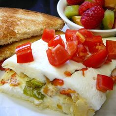 "Easy Egg White Omelet | ""This was so easy yet delicious."""