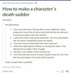 Writing a heartbreak