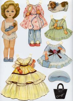 54 Super Ideas for diy paper dolls etsy Paper Doll Craft, Doll Crafts, Paper Toys, Diy Paper, Paper Art, Paper Crafts, Paper Dolls Printable, Modern Dollhouse, Victorian Dollhouse