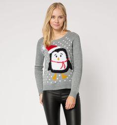 Sklep internetowy C&A | Sweter z motywem, kolor:  jasnoszary 27,90zl
