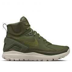 huge discount a5941 2bd33 NikeLab Koth Ultra Mid x Stone Island (Olive) Sports Footwear, Sports Shoes,