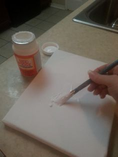 Easier, cheaper method to transfer images to canvas - minus the gel medium