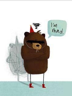 Children's Book Art - Charlotte Mao More peg leg love