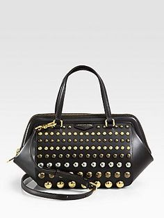 Marc by Marc Jacobs Thunderdome Studded Satchel