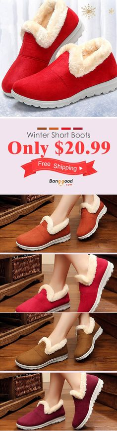 US$20.99+ Free shipping. Snow Boots Women Winter Fur Lining Keep Warm Cotton Outdoor Flat Shoes. shoes boots, boots outfit, womens boots, winter boots, ankle boots, slip on shoes, snow boots. Buy now! #shops #style #ideas #womens #shoes #boots #snow #diy #plussize #outfit #ankle #short #guide #winter #cheap #hunter #2017 #fashion #howtowear