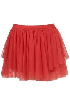 Bright Pink Tulle Mini Skirt - Skirts - Clothing - Topshop - StyleSays