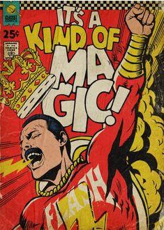'Planet Mercury' - Queen-Songs als Vintage Comic Cover von Butcher Billy Comic Del Joker, Joker Comic Book, Iron Man Comic Books, Archie Comic Books, Comic Book Heroes, Comic Books Art, Book Art, Marvel Comic Books, Comic Book Crafts
