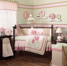 1000 Images About Baby Girl Room On Pinterest Elephants