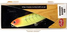Fishing: Lucky Craft Wood Sammy 100 Lure (Impact Yellow, 4-Inch) * Read more…
