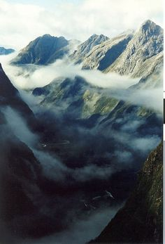 New Zealand Milford Trek - the most beautiful walk in the world. Must do this again.