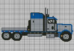Semi Truck Crochet Pattern