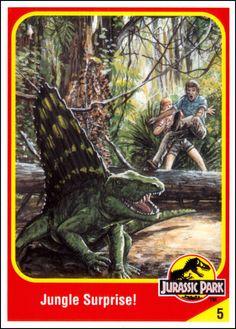 Jurassic World Trading Cards Jurassic Park Book, Jurassic Park Trilogy, Jurassic Movies, Dinosaur Movie, Dinosaur Art, Michael Crichton, Paco Ortega, Jurrassic Park, Thriller