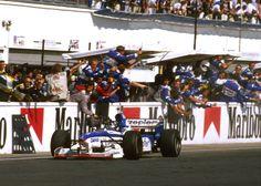 Damon Hill, Arrows-Yamaha FA18, 1997 Hungarian GP, Budapest